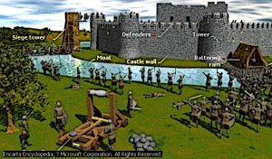 Castle-Siege-battering-ram-attack