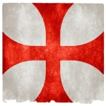 Templar Red and White Flag