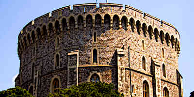 Medieval Castle Tower Windsor Tower