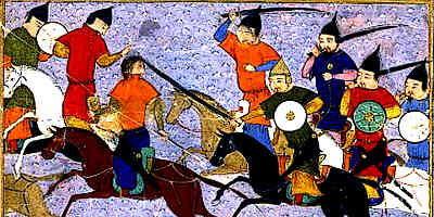 Eighth Crusade Mongol Army
