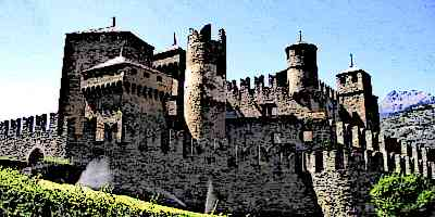 medieval watchtowers castle parts
