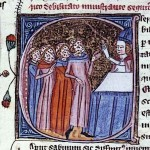 Medieval Diseases women with smallpox