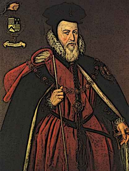 Medieval Nobility Medieval Barons Costumes William Cecil Lord Burghley