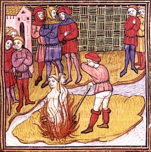 Knights Templar Were Burned alive for Devil Worship