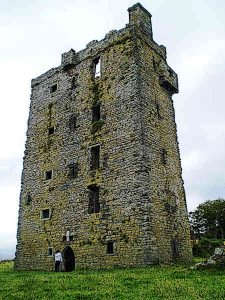 Carrigaholt Castle in Ireland